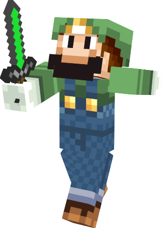 minecraft construction personnage 16