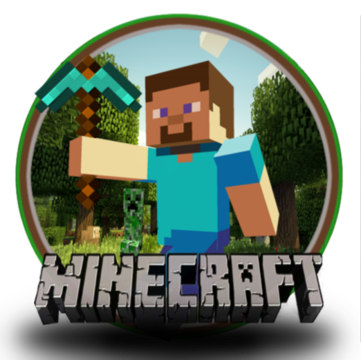 minecraft logo 25