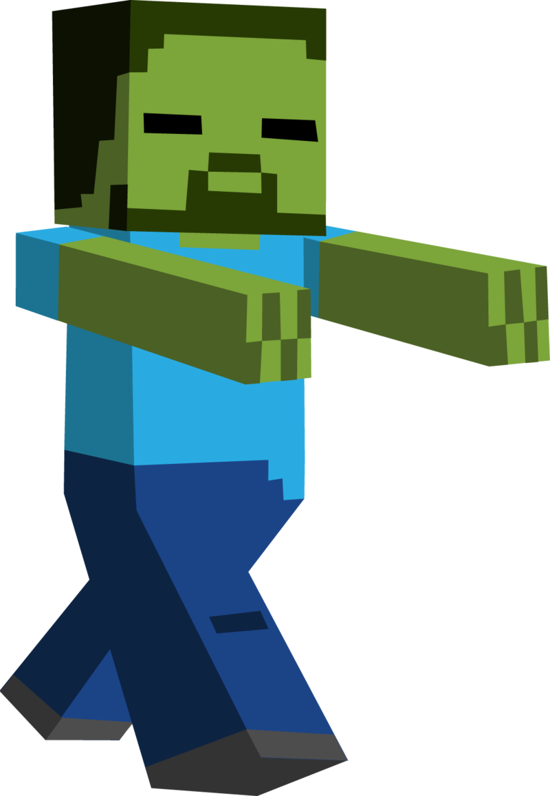 Minecraft Transparent Background Minecraft Zombie Transparent