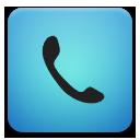 phone blue telephone