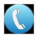 telephone blue telephone