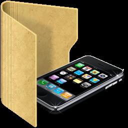 folder iphone iphone