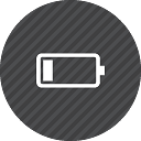 battery empty 1 batterie