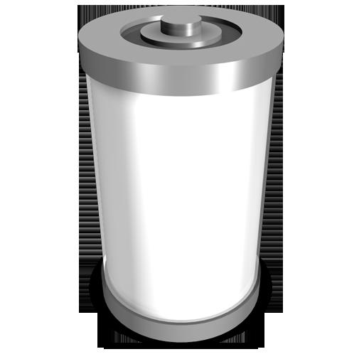 battery empty batterie