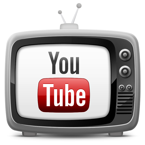 tv set icon youtube
