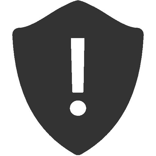 warning shield