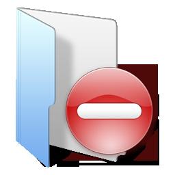 folder blue rivate