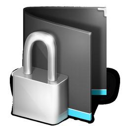 private folder black