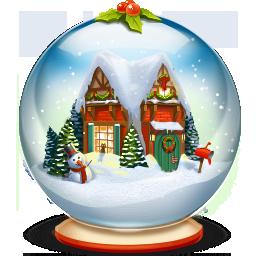 ball boule neige