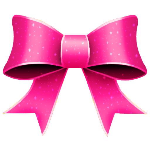 ribbon pink pattern decoration