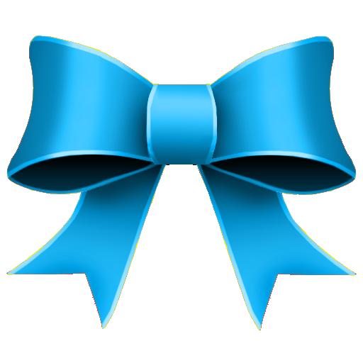 ribbon blue decoration