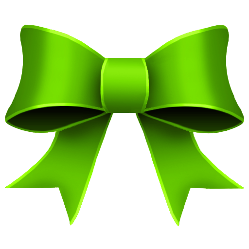 ribbon green decoration