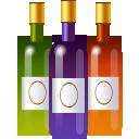 xmas bottles boisson