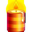 xmas candle bougie