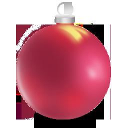 christmas ball 2 boules