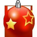 xmas ornament boules