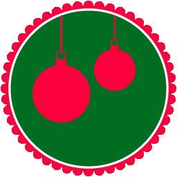 christmas hanging balls boules