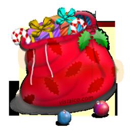 christmas santa bag sac pere noel