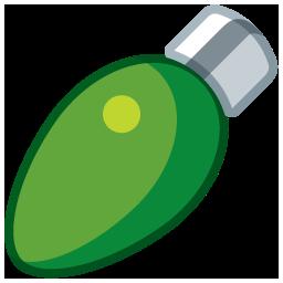 light oval green boule