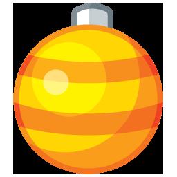 ornament1 gold boule
