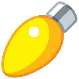 light oval yellow boule