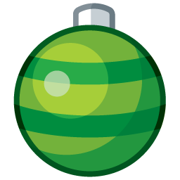 ornament1 green boule