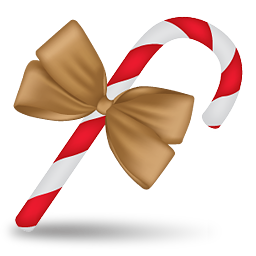 candy cane 3 bonbon