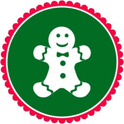 christmas gingerbread gateau