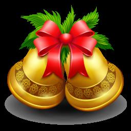 christmas bell cloche