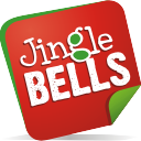 jingle bells note cloche
