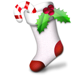 christmas sock chaussette