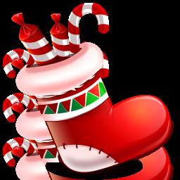 christmas sock chaussette