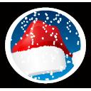 santa hat bonnet