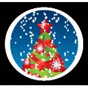 merry christmas tree sapins