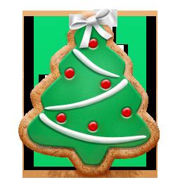 christmas tree cookie sapins