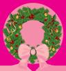 christmas wreath couronne