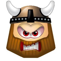 viking angry angrybird
