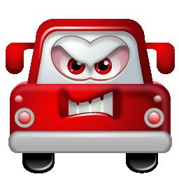 auto angry angrybird