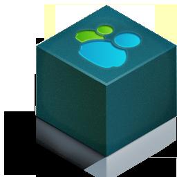 cube 3d msn color