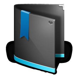favorites folder black