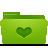 folder green favorites
