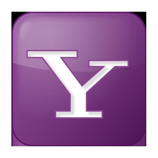 social yahoo box lilac