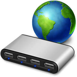 network usb hub