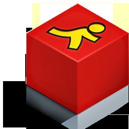 cube 3d aim color