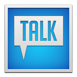 google talk white frame